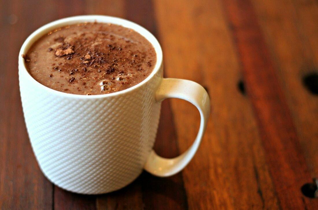 Фото чашка какао.