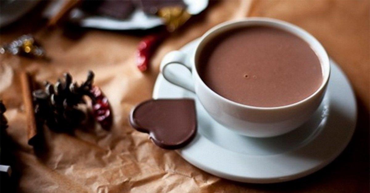 Фото чашка с какао.