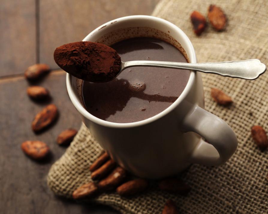 Фото калорийность какао.