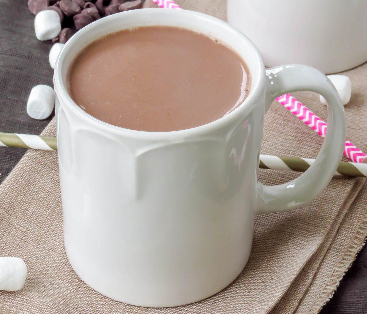 Фото кружка какао.