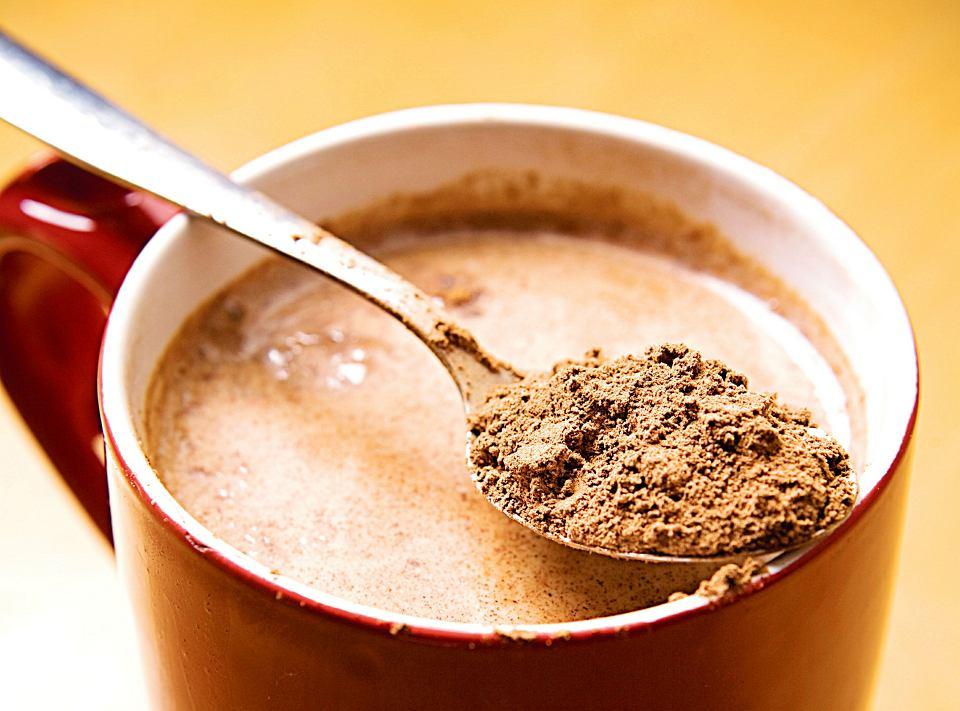 Фото ложка какао.