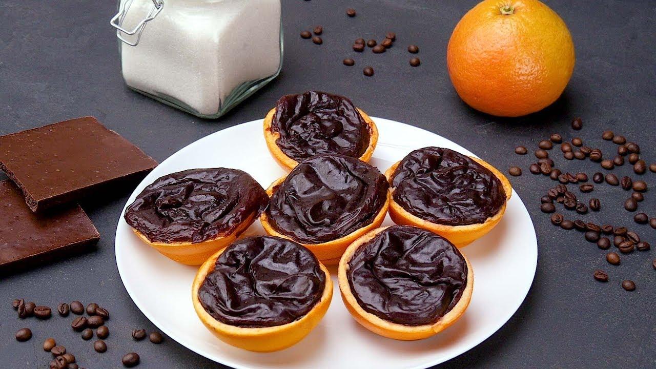 Фото пудинг с апельсином.
