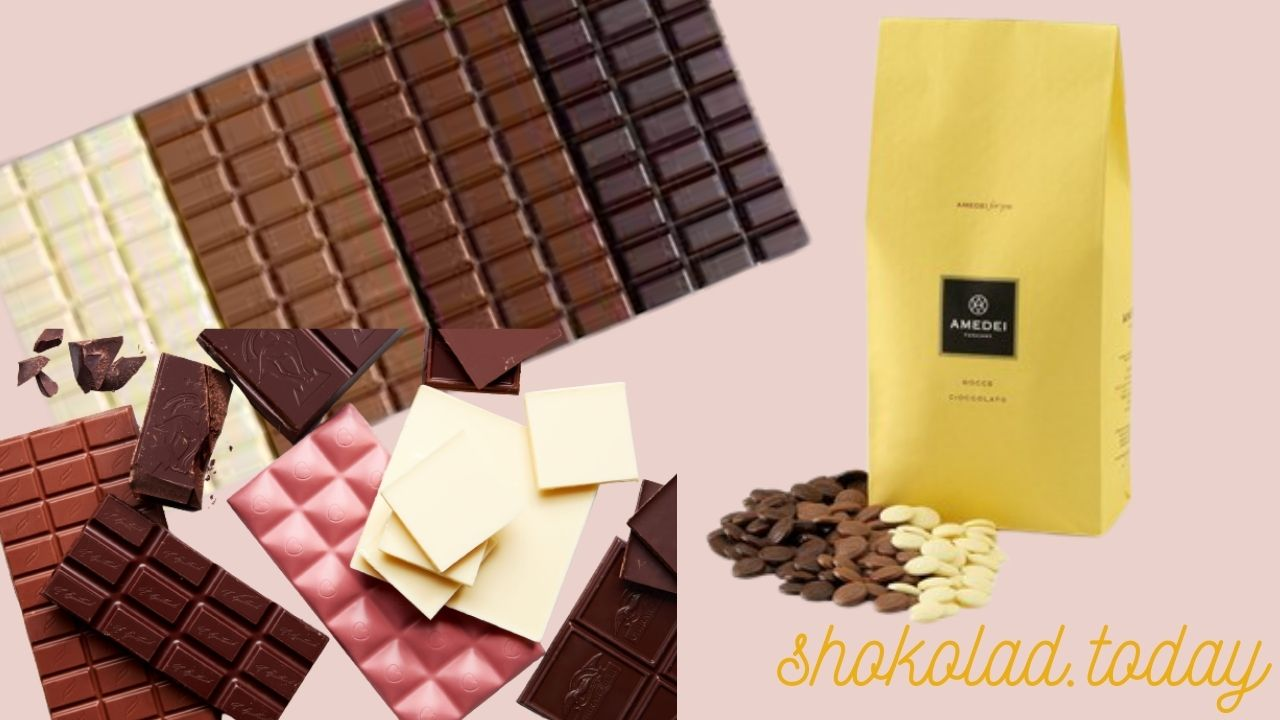 Фото raznye vidy shokolada.
