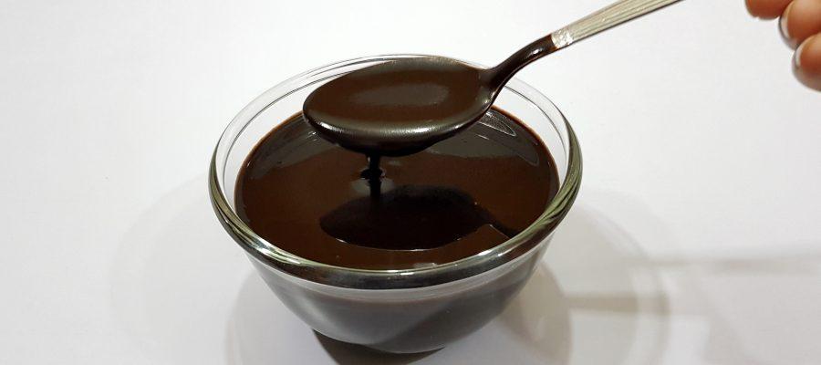 Фото шоколадный сироп.