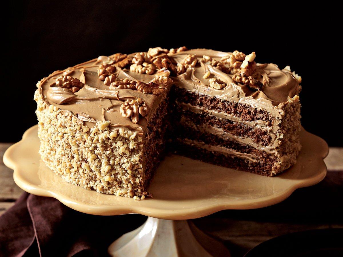 Фото Кофейный торт «Мокко».