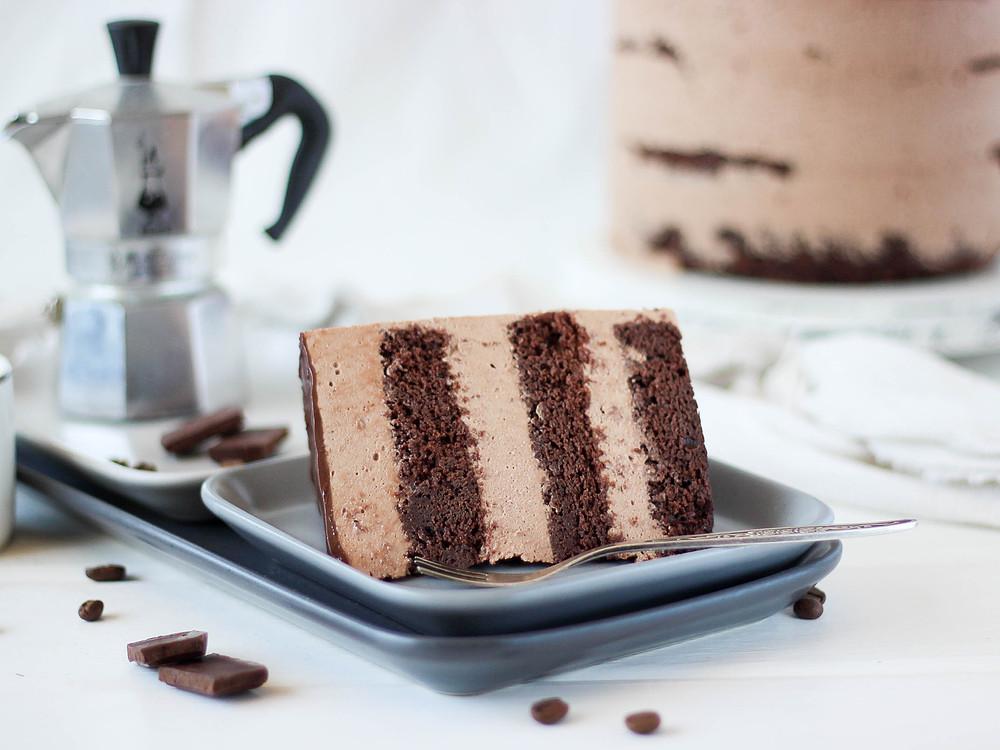 Фото Муссовый торт Мокко.