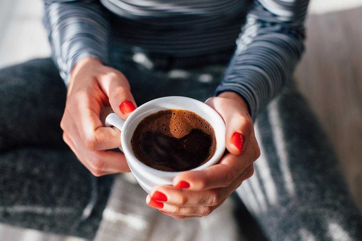 Фото чашка кофе.