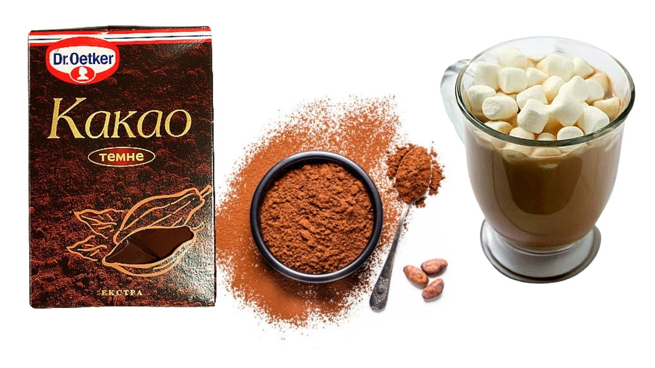 Фото kakao dr oetker.