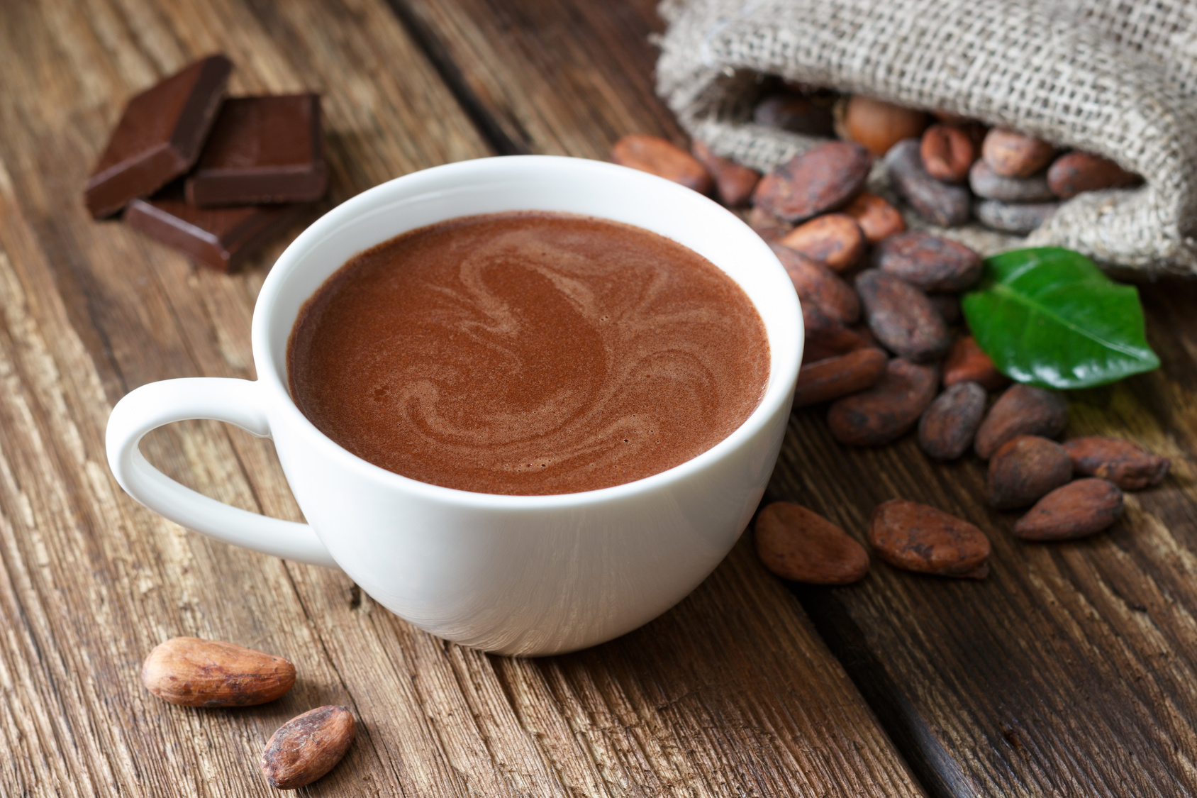 Фото какао горячий.