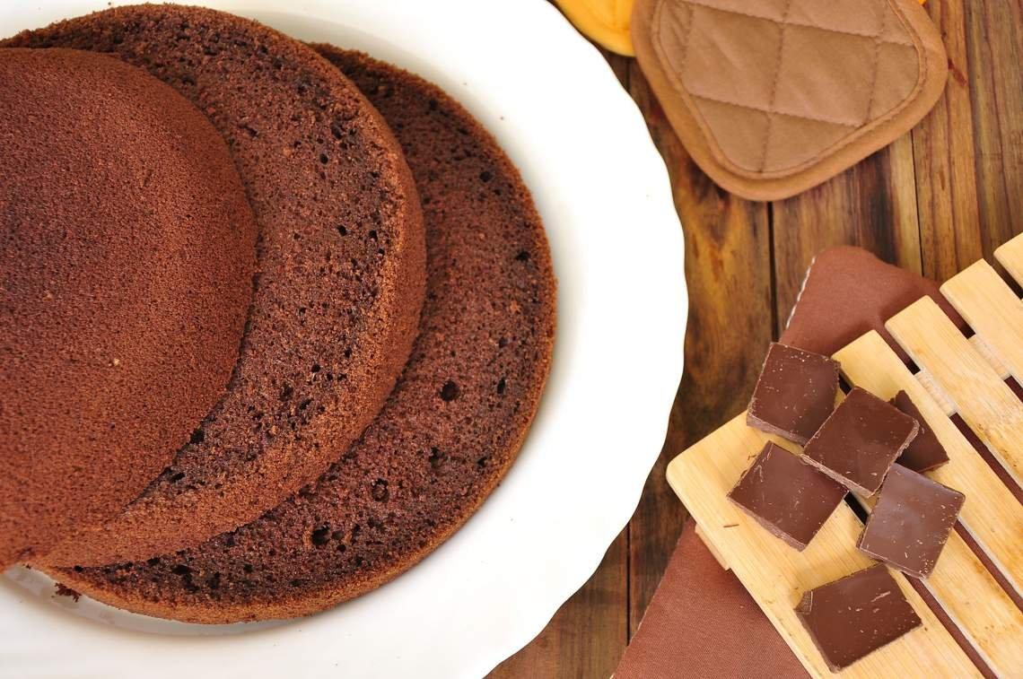 Фото коржи на торт.