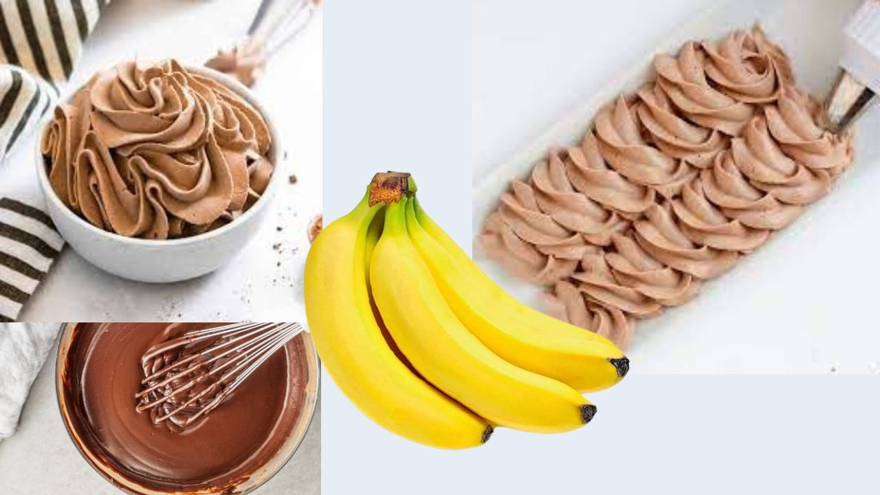 Фото krem i banany.