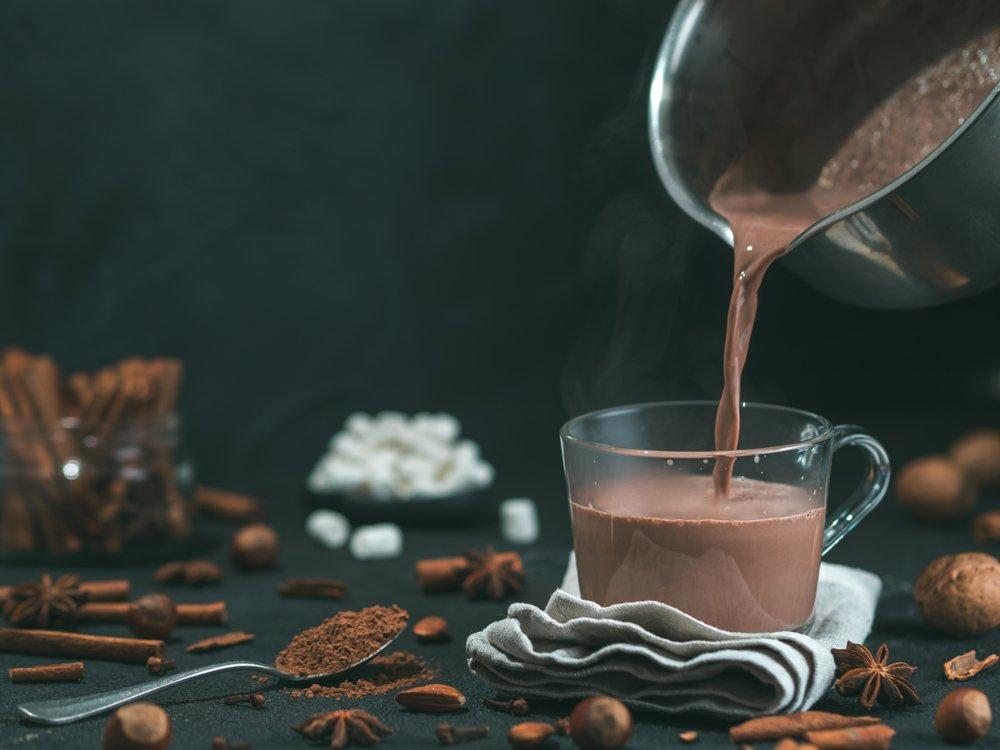 Фото напиток какао.