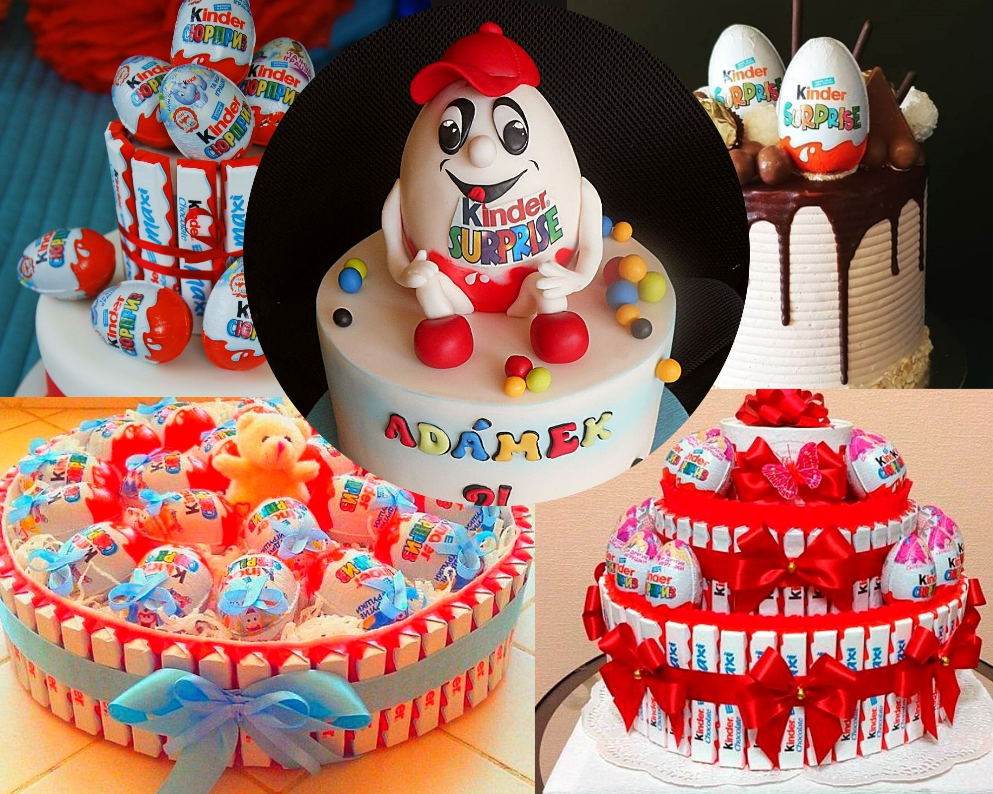 Фото pyat detskih tortov.
