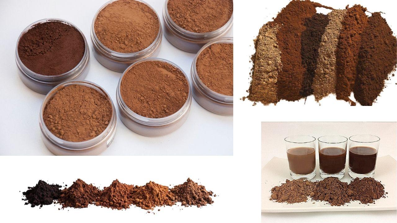 Фото raznye vidy kakao.