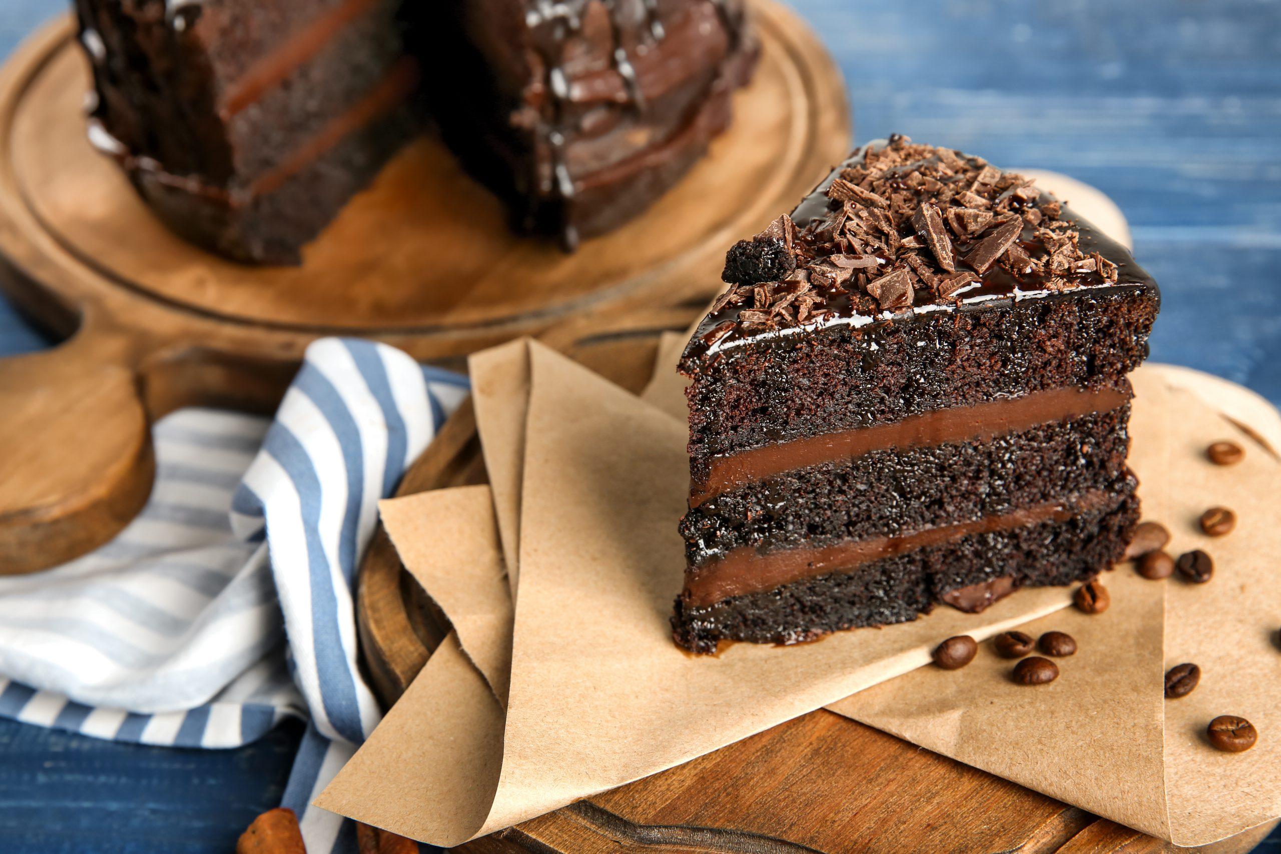 Фото сочный торт.