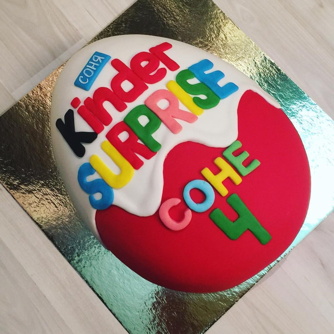 Фото торт киндер.