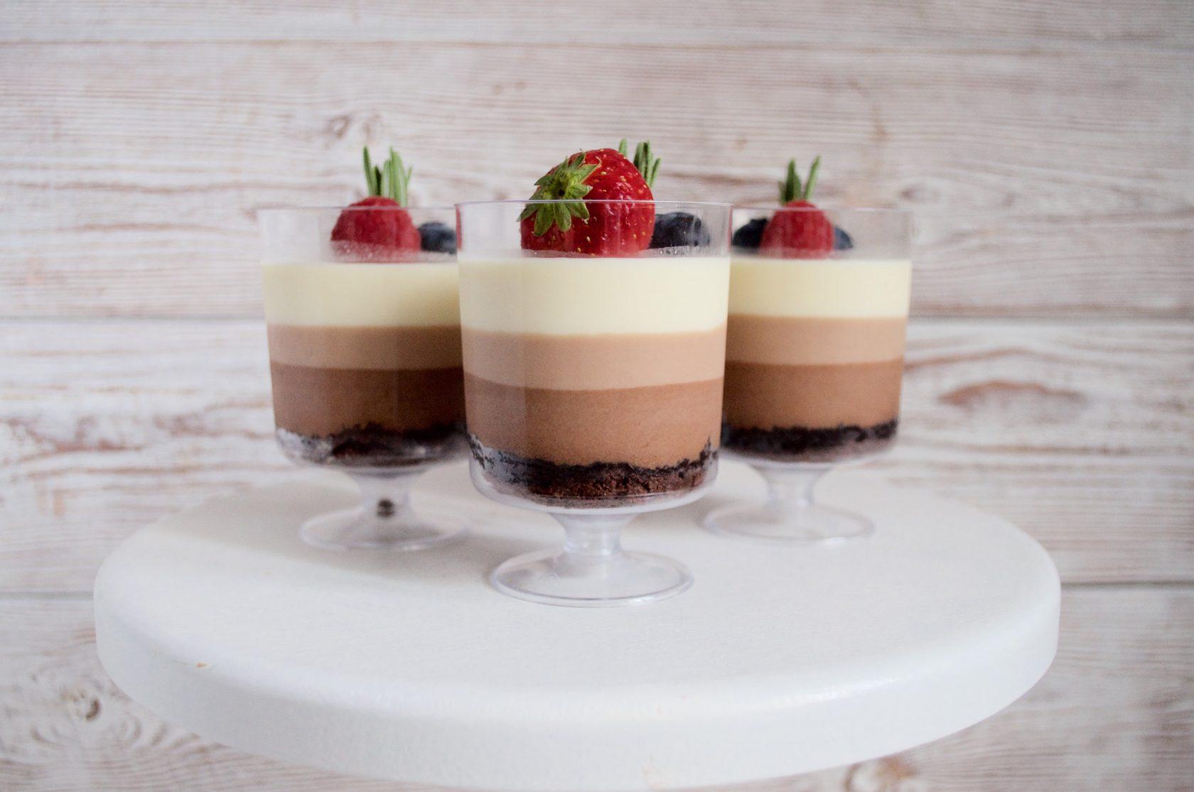 Фото три шоколада.