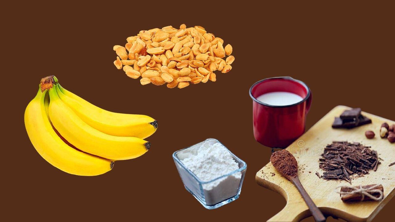 Фото arahis banany kakao moloko.
