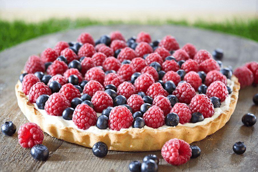Фото ягодный пирог.